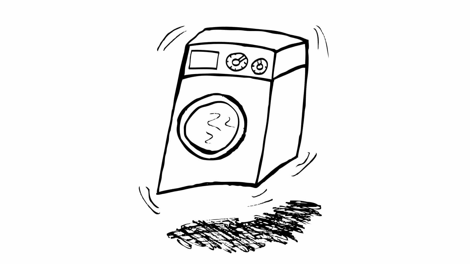"""Featured image for """"Washing Machine Shaking? Here's What to Do"""""""
