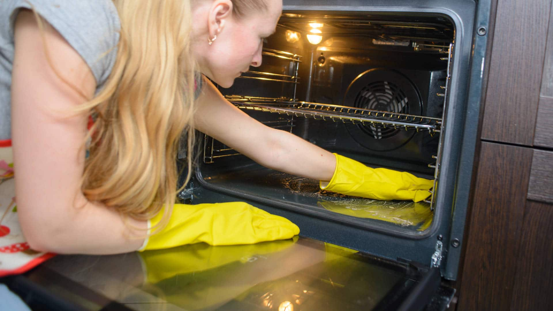 """Featured image for """"How to Clean an Oven (3 Methods)"""""""